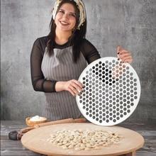 Machine à ravioli faisant la pâte à pâtisserie presse Manti moule Pelmeni pâtes moule boulette outils de cuisine bricolage Moule pour la cuisson des outils pour pâtes Wrapper Women saison des cadeaux 200/61/37 trous