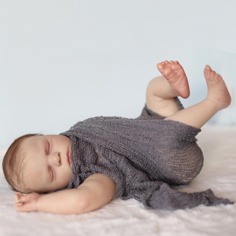 RBG Reborn Baby Doll 20 дюймов реалистичные куклы новорожденных Bebe Эмма винил Неокрашенный Незаконченный Запчасти DIY пустые куклы комплект игрушки Н...