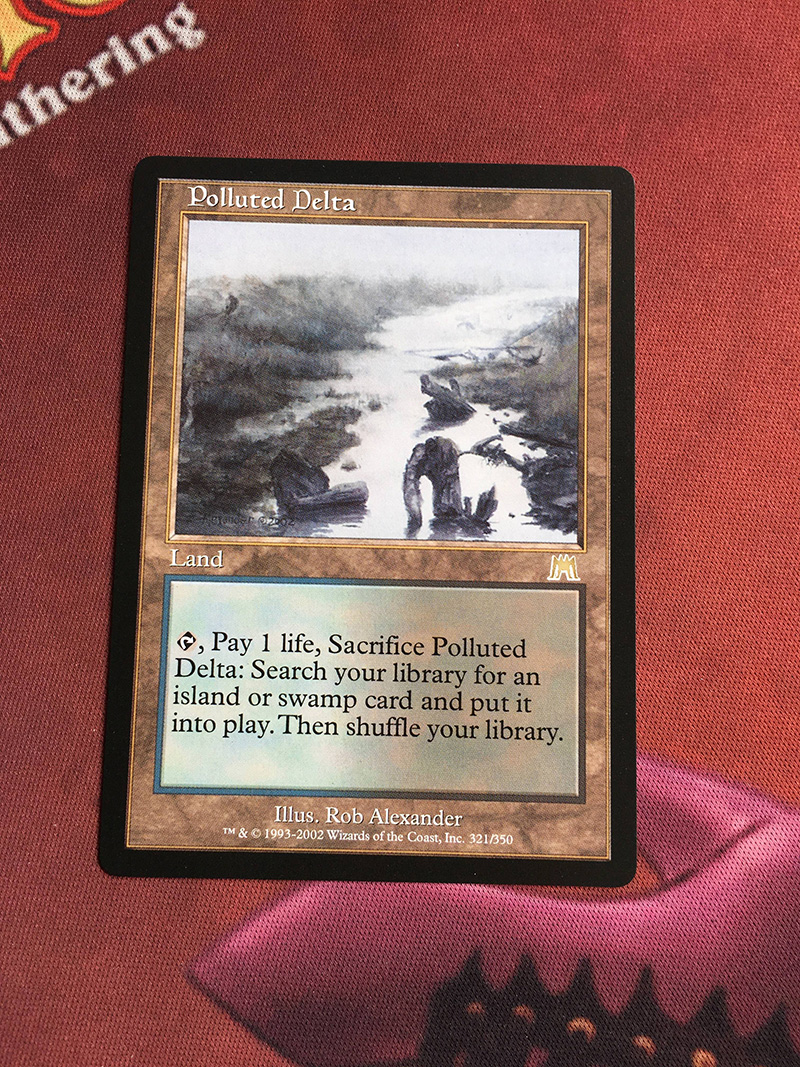 Polluted Delta Onslaught Magician ProxyKing 8.0 VIP The Proxy Cards To Gathering Every Single Mg Card.