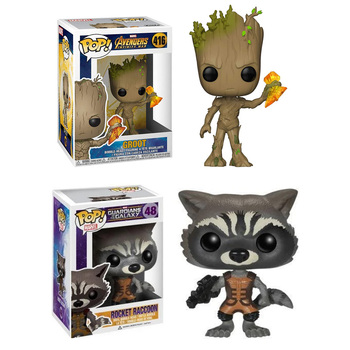 Funko Pop Marvel Avengers: Infinity War - Part I /II #416 Guardians of the Galaxy #48 Vinyl Action Figure Dolls Toys 1