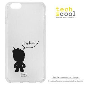 FunnyTech®Stojak etui na Huawei P30 silikonowe Lite L dla dzieci Groot strażnicy galaxy vers.1