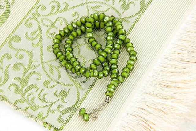 Prayer Rug with Rosary Tasbih Islamic Gift Sets  for Muslims мусульманские комплекты High Quality Prayer Mat Turkish Production