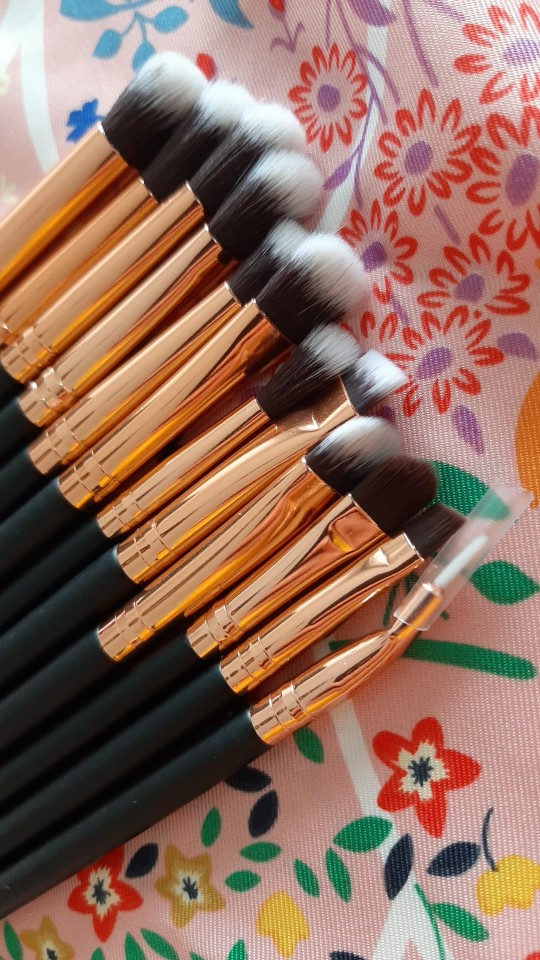 12 Pieces of Eye Shadow Make up Brush