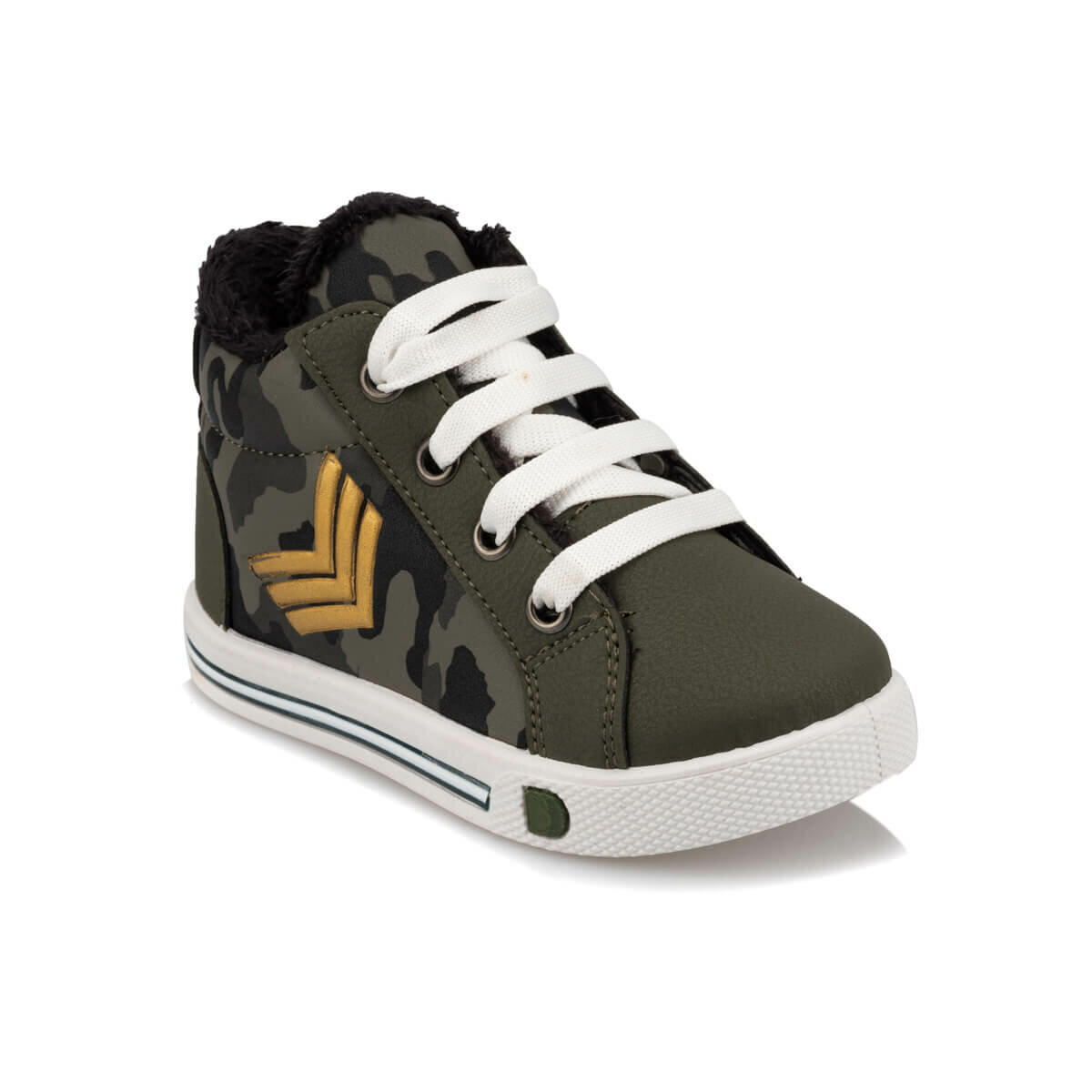 FLO 92.510834.B Khaki Male Child Sneaker Shoes Polaris