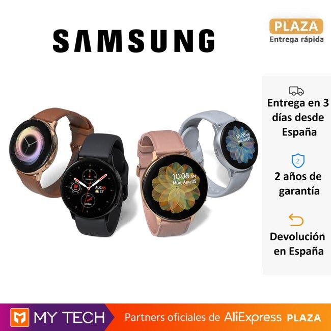 Samsung Galaxy Watch Active2, smartwatch 40 y 44 mm, reloj inteligente, Bluetooth y/o 4G, resistente agua, control ejercicio|Relojes inteligentes| - AliExpress