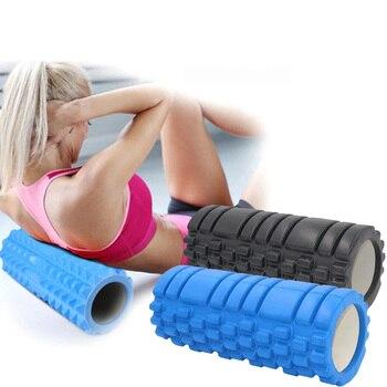 Rodillo masajeador espalda rulo de masaje muscular para entrenamiento yoga fitness pilates...