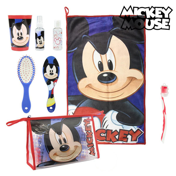 Toilet Bag With Accessories Mickey Mouse 8782 (7 Pcs)