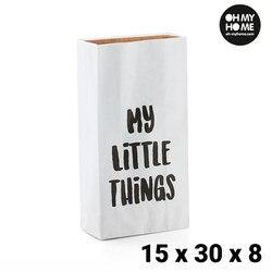O mój mały papier do domu (15x30x8 cm) w Składane torby do przechowywania od Dom i ogród na