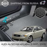 Car Mats EVA on Audi A6 C5 1997-2005 set of 4x mats and jumper