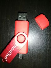 I received the parcel, the flash drive as in the description, it works