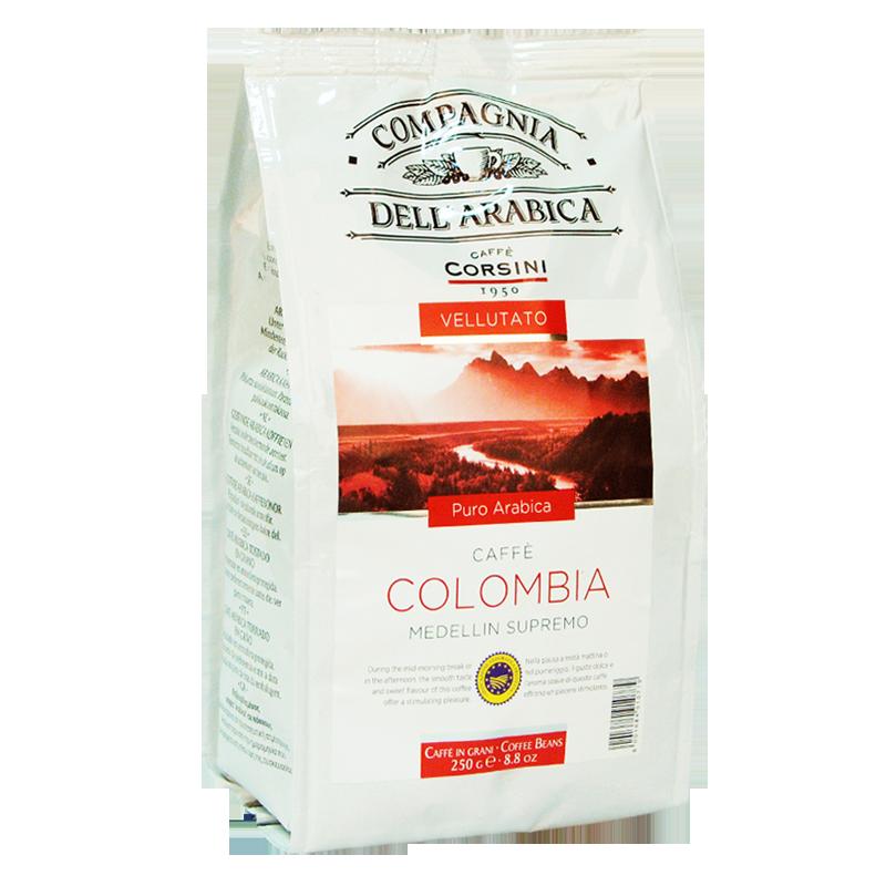 Кофе в зернах Compagnia Dell'Arabica Colombia Medellin Supremo 250г