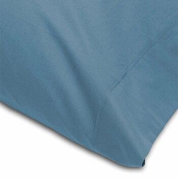 Funda Almohada Abece Azul Humo 15 Lisa