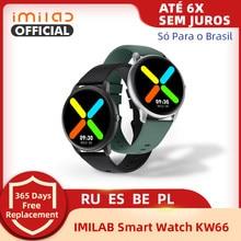 Imilab KW66 Смарт-часы фитнес-трекер монитор сердечного ритма экран монитор сна для Android Honor Huawei Xiaomi