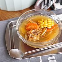 虫草花玉米排骨汤的做法图解7