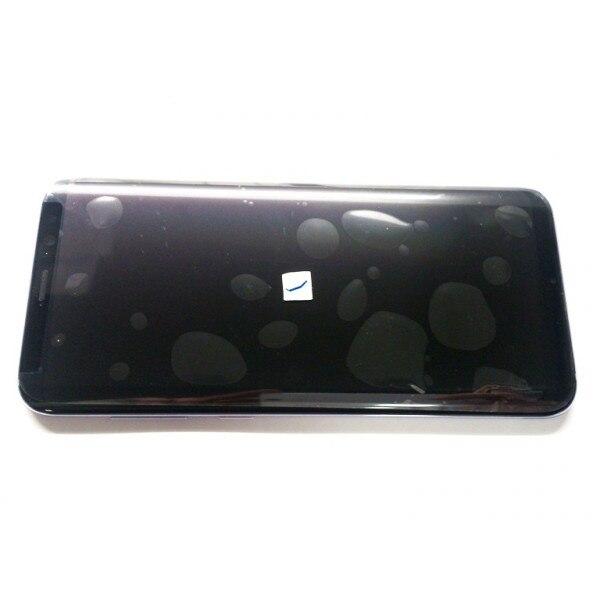 Samsung G955FD Galaxy S8+ - Дисплей (lcd) в сборе с сенсорным стеклом (touchscreen) (цвет: Violet), Оригинал