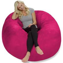 top Selling Extra Large 4′ Bean Bag Chair Covers Replacement Comfy Beanbag Without Filling