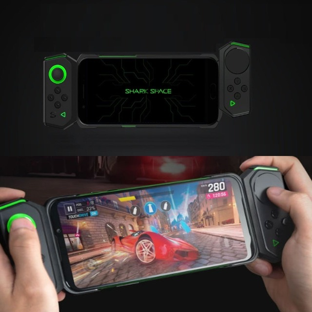 Xiaomi Black Shark Pro Kit (Brand New) Black Shark Gamepad (Left Side and Right Side Versions) + Side-Out Protective Case 2