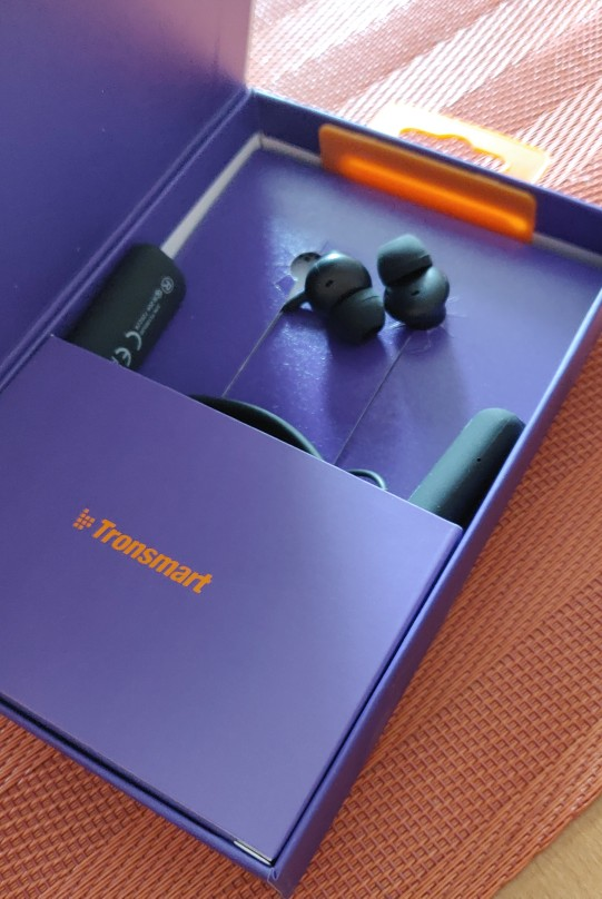 Updated Tronsmart S2 Plus Bluetooth 5.0 Earphone with Qualcomm Chip Deep Bass Voice Control Wireless Headset for iOS Android-in Bluetooth Earphones & Headphones from Consumer Electronics on AliExpress