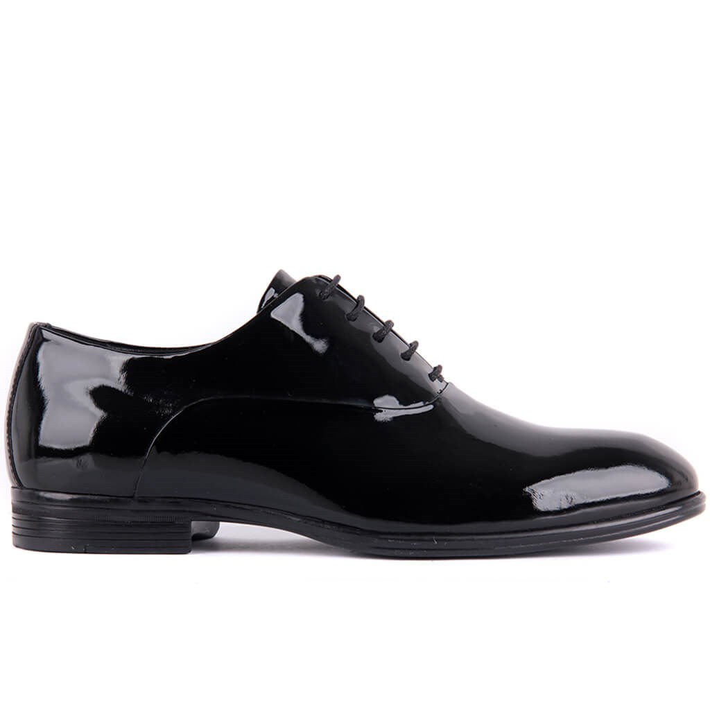 Sail-Lakers Genuine Leather Black Men Casual Shoes