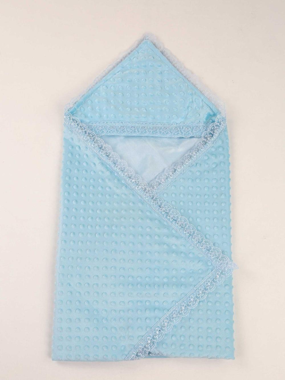 078-1001-015 Mavi 85X85 cm Erkek Bebek Kundak Battaniye (1)