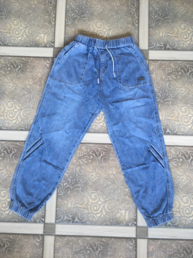 Spring 2020 Women's New Jeans Pants Large Size High Waist Denim Pants Autumn Loose Streetwear Tye Dye Sweatpants