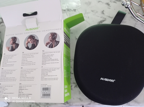 AUSDOM ANC8 Active Noise Cancelling Wireless Headphones Bluetooth Headset with Super HiFi Deep Bass 20H Playtime for Travel Work|Bluetooth Earphones & Headphones|   - AliExpress