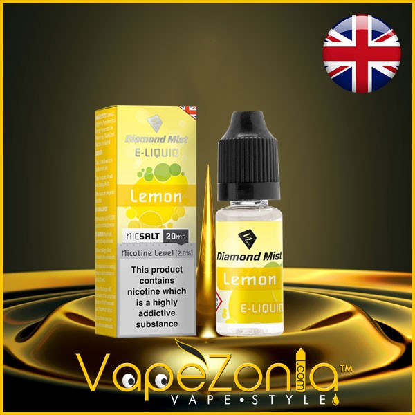 Diamond Mist E Liquid Nic Salt LEMON 20 Mg - 10 Ml