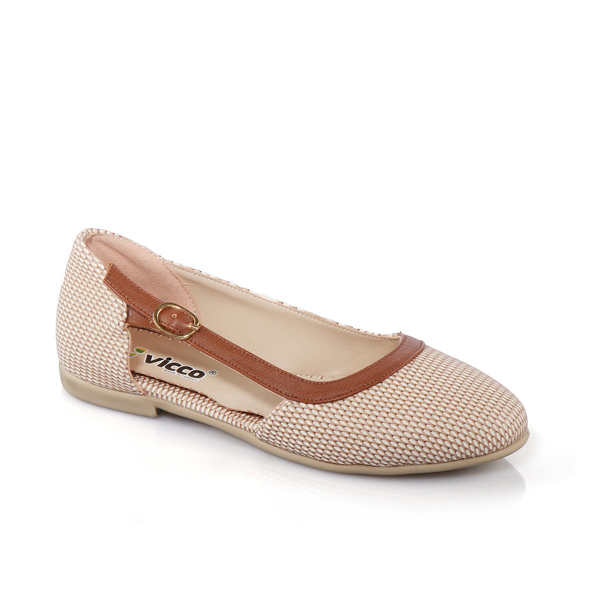 FLO 913.18Y. 492 FILET BALLERINA Sand Color Female Child Ballerina VICCO