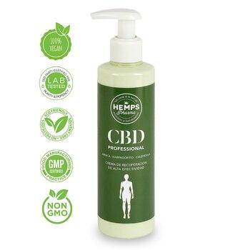 Canape Pharma - CBD Profesional | Crema de masaje con CBD para Uso Profesional (400 mg de Cannabidiol) - 250ml