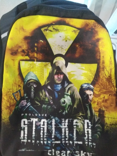 17Inch Stalker Shadow Of Chernobyl Mens College Backpack Usb Charger Schoolbag For Laptop Backpacks For Teenage School Bag Boys photo review