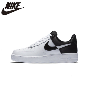 Original Authentic Nike AIR FORCE 1 AF1 GORE TEX Men Skateboard Shoes Outdoor Black white Fashion Sports Shoes Breathable