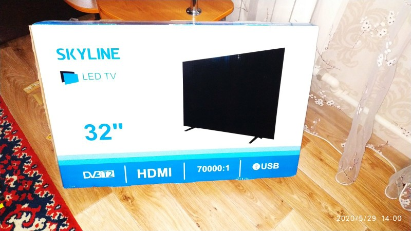 "TV 32"" SKYLINE 32YT5900 HD 3239inchTV dvb dvb t dvb t2 digital