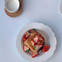 草莓法式吐司的做法图解8