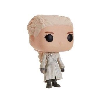 FUNKO Pop Vinilo Game of Thrones S8 Daenerys (Abrigo Blanco), Juego de...