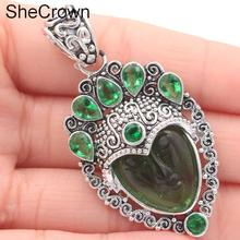 Free Shpping Egypt Goddess, Deep Bule Sapphire 925 Silver Pendant dhl shpping 100