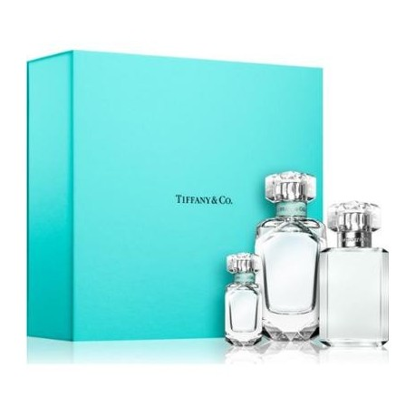 SPRAY AND CO EDP TIFFANY 75ML + BODY LOTION 100ML + MINI 5