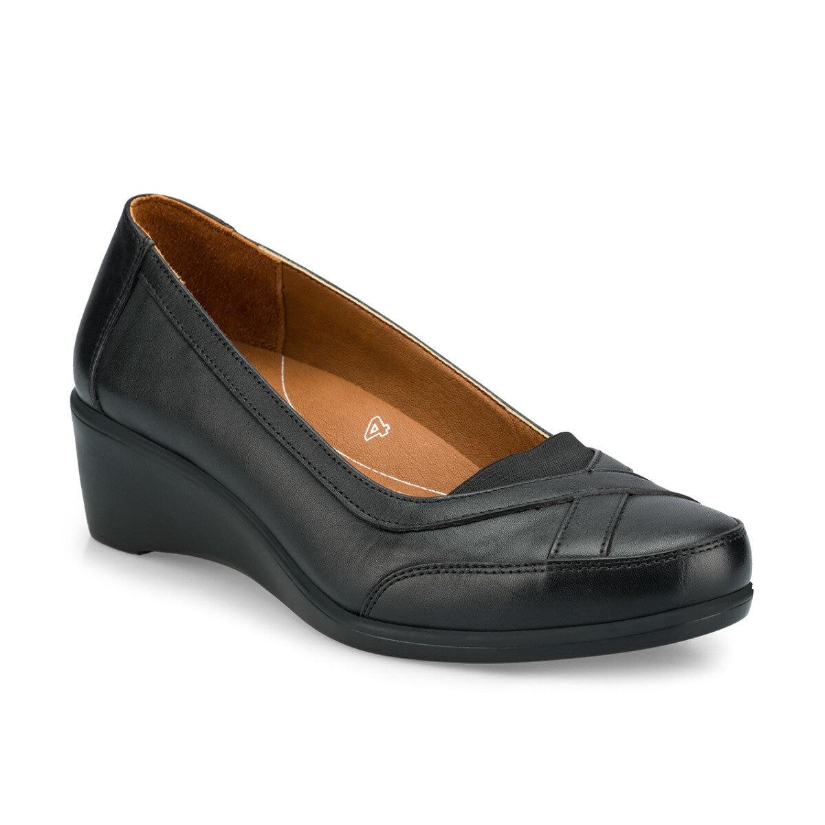 FLO 103013.Z Black Women Shoes Polaris 5 Point