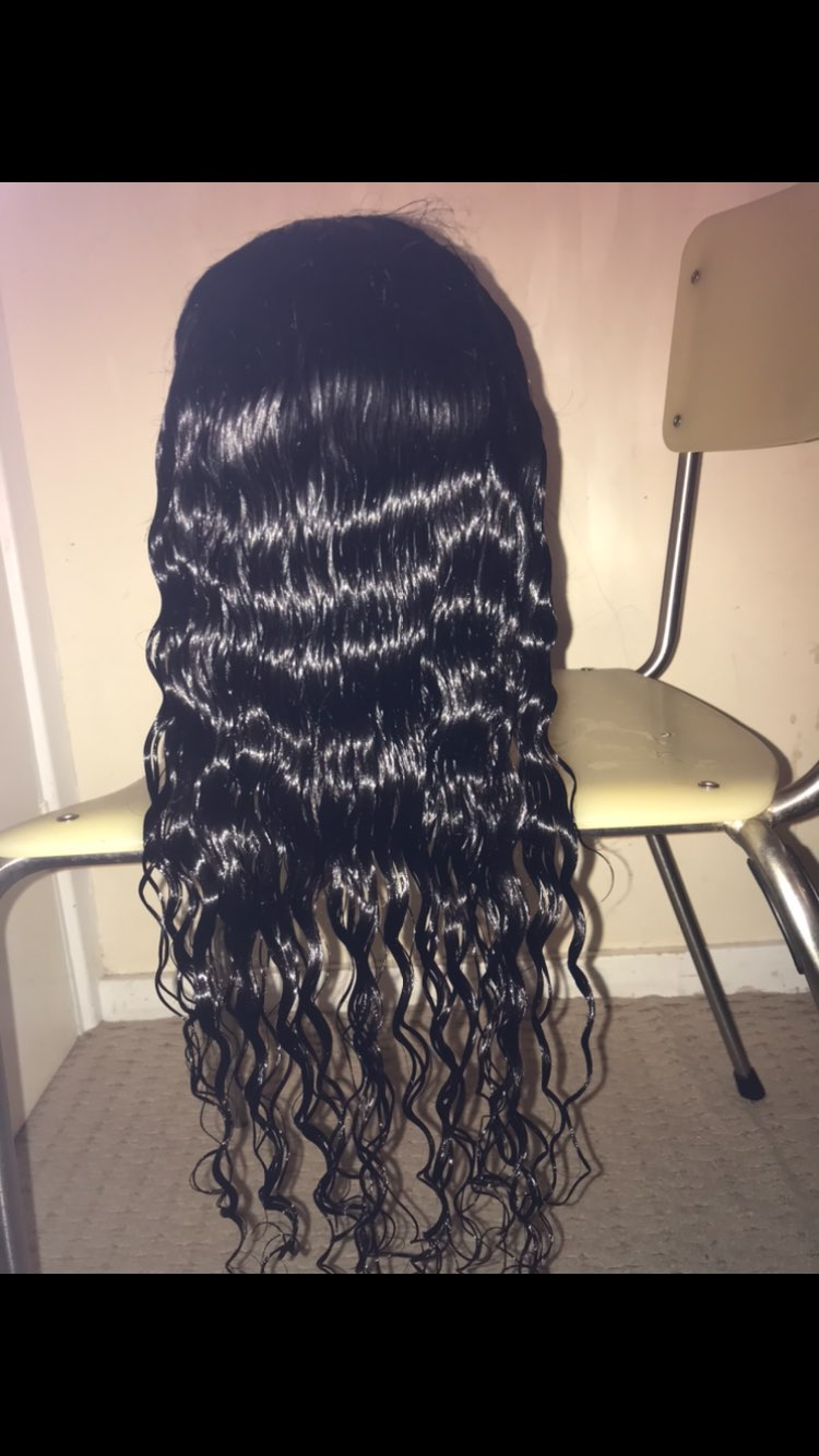 Deep Wave Closure Wig Human Hair Lace Frontal Wigs 180 Lace Front Wig Pre Plucked Bleached Knots Wigs Remy 4x4 Frontal Lace Wig Human Hair Lace Wigs    - AliExpress