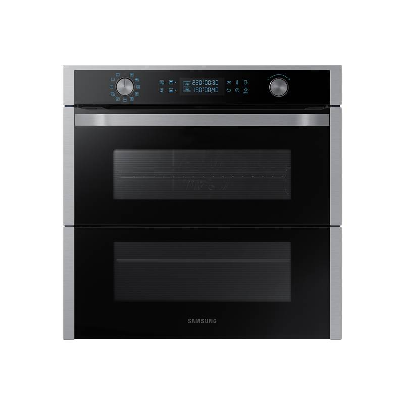 Pyrolytic Oven Samsung NV75N7677RS/CE 75 L 1600W WiFi TO + Black