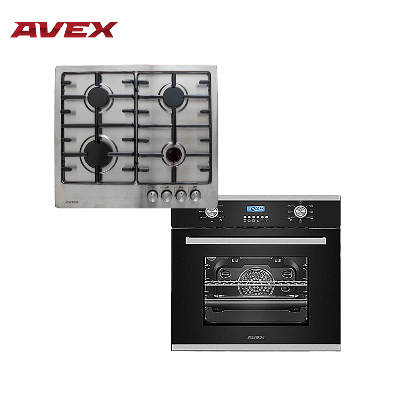 лучшая цена Set the cooktop AVEX HS 6040 X and  electric oven AVEX HM 6170