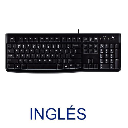 Teclado Logitech OEM K120 English For Bussines (OEM) USB P/n: 920-002479