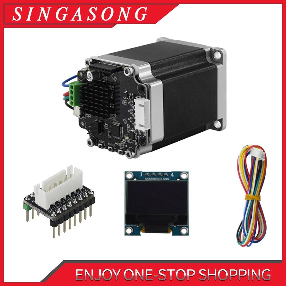 Makerbase MKS SERVO57B NEMA23 STM32 closed loop stepper motor Driver CNC 3d printer parts prevents l