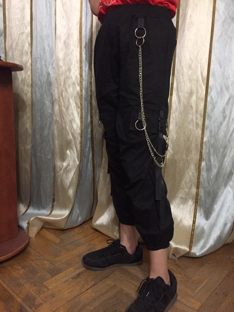 Women's Cargo Pants Egirl Anime Pastel gothic photo review