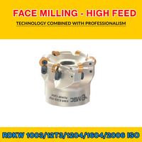 TK RD..16 020 ISO FACE MILLING - HIGH FEED EMR 80X5 027 RDKW 1604
