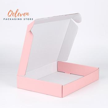Customized Logo T-Shirt Clothing Packaging Box Wholesale Accessories Scarf Wigs Packing Gift Box