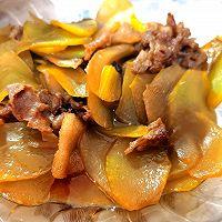 嫩莴苣炒肉片的做法图解7