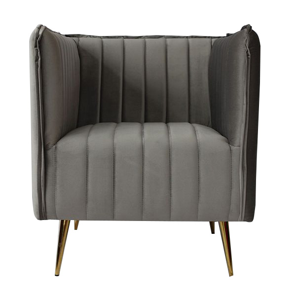 Armchair Art Deco Lines (73 X 74 X 79 Cm)