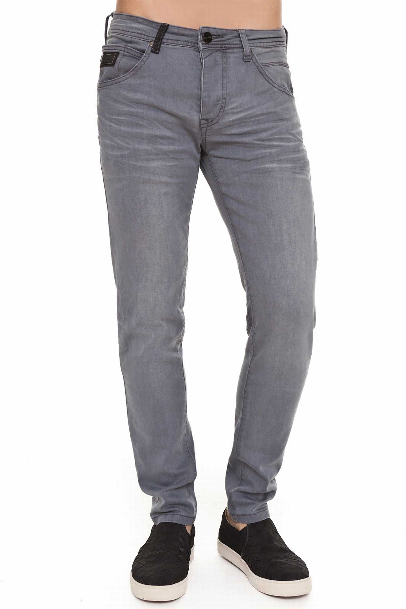 Born Rich OSMIUM Jeans For Men Color Casual Grey BR2B109914GR3BRC2-3