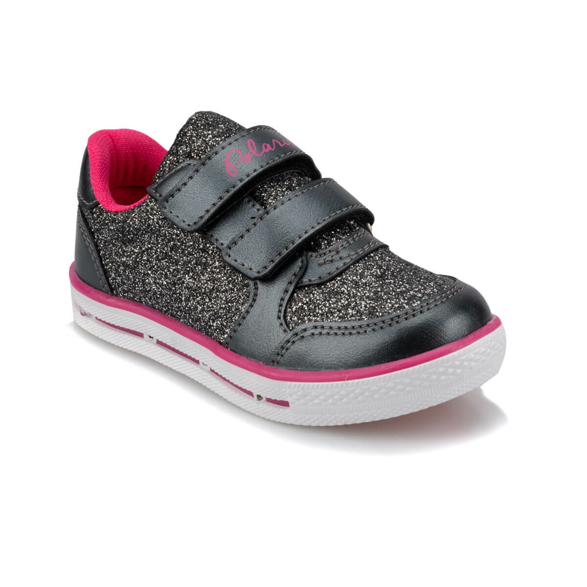 FLO 92.511789.P Black Female Child Sneaker Shoes Polaris