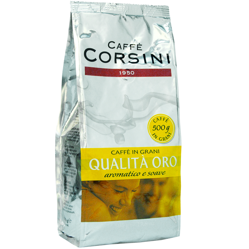 Coffee beans Caffe Corsini qualita oro 500g